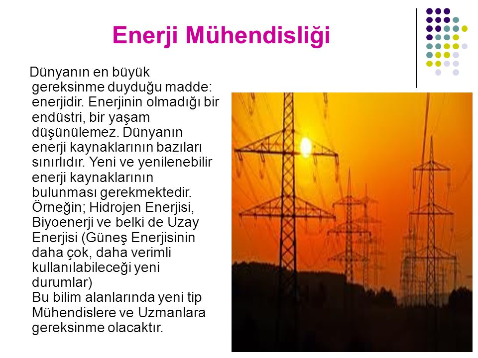 Enerji Mühendisliği