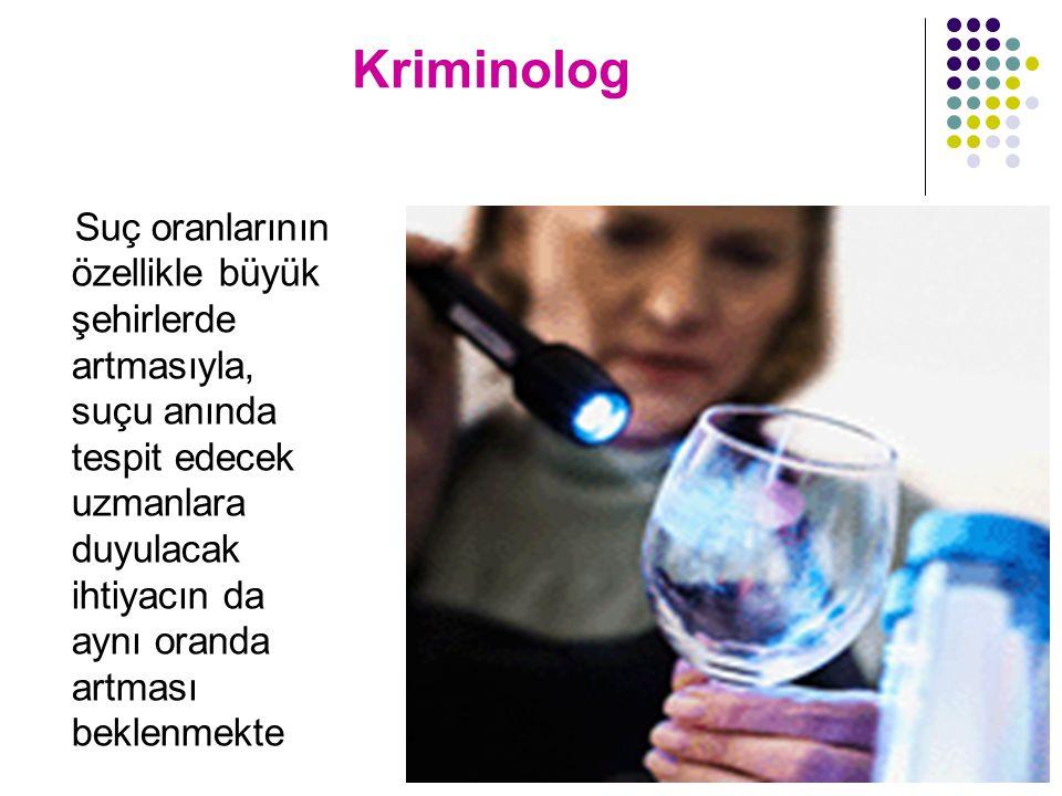 Kriminolog