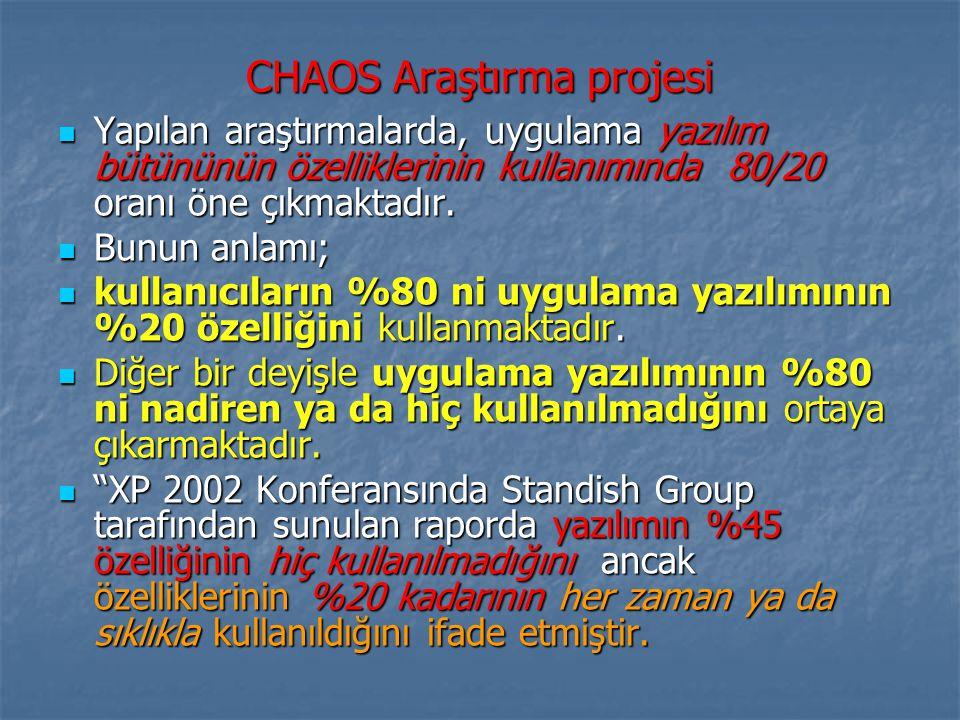 CHAOS Araştırma projesi