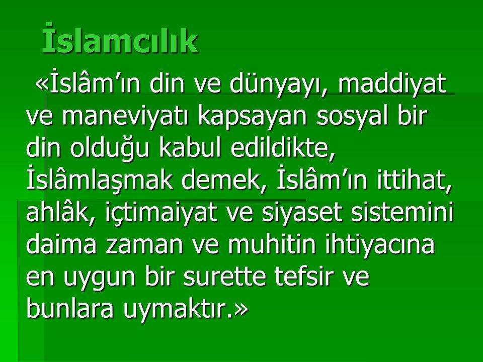 İslamcılık