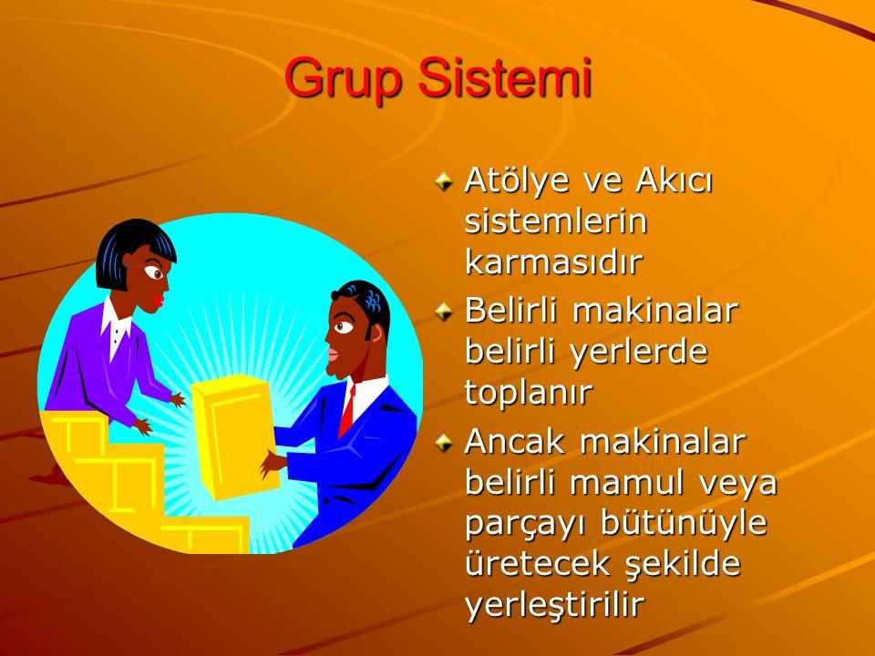 Grup Sistemi Atölye ve Akıcı sistemlerin karmasıdır