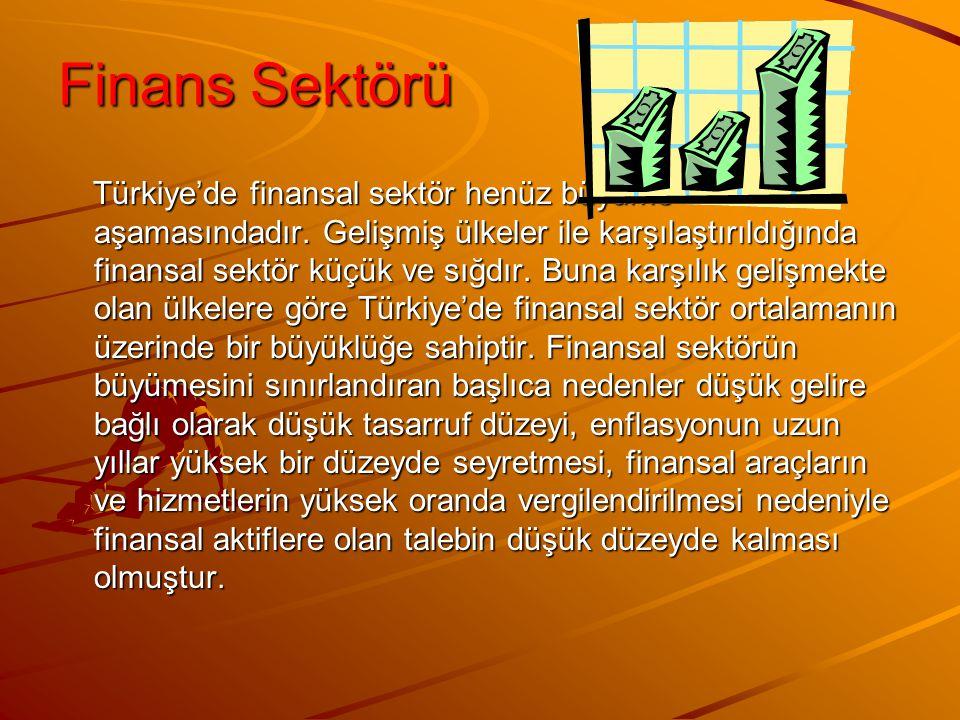 Finans Sektörü