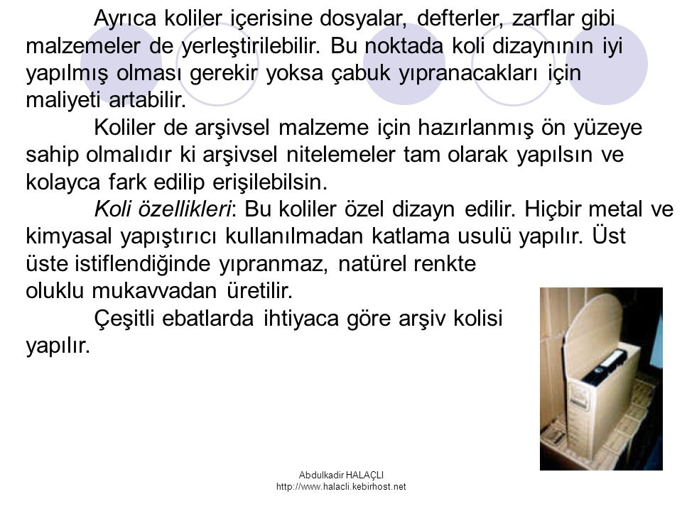 Abdulkadir HALAÇLI http://www.halacli.kebirhost.net
