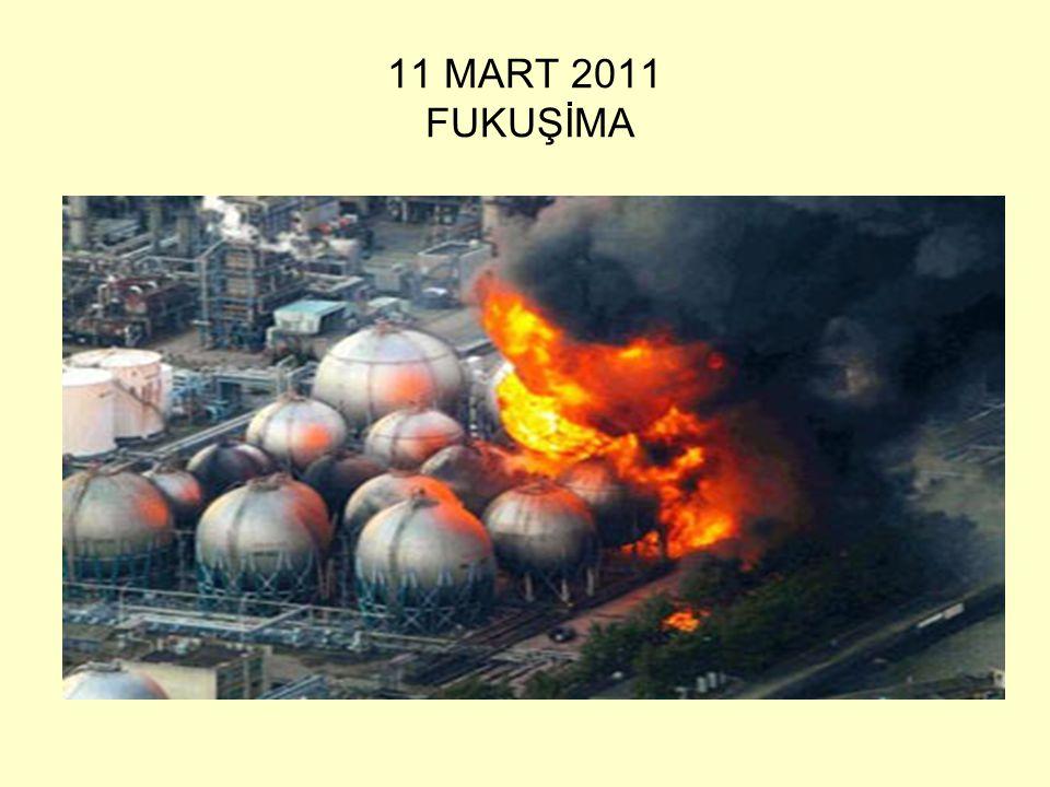 11 MART 2011 FUKUŞİMA
