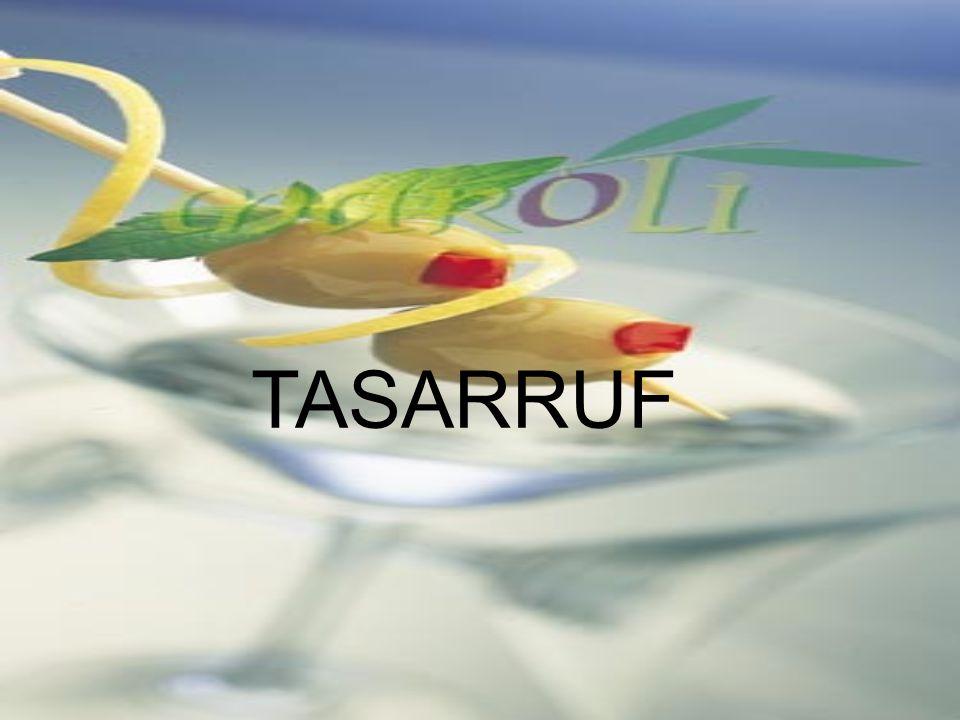 TASARRUF
