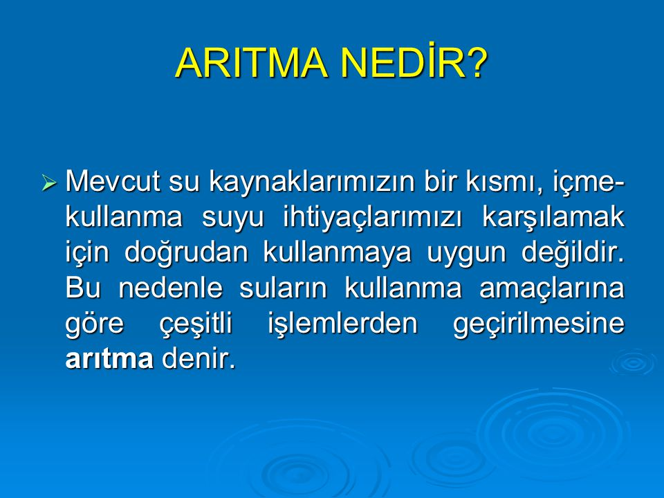 ARITMA NEDİR