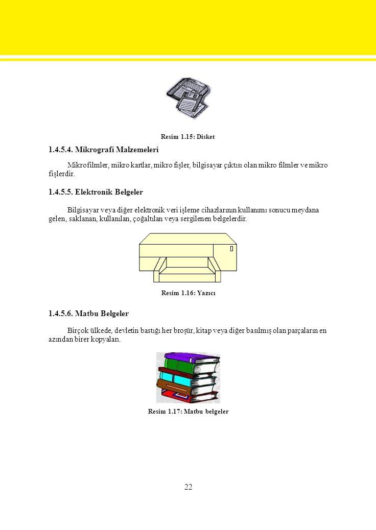 1.4.5.4. Mikrografi Malzemeleri
