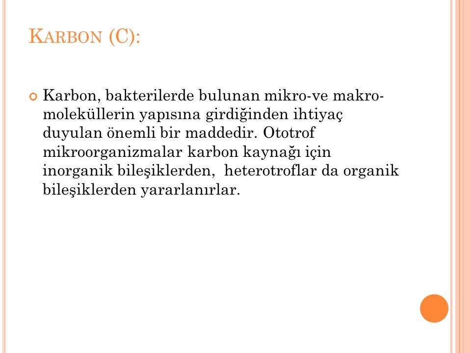 Karbon (C):