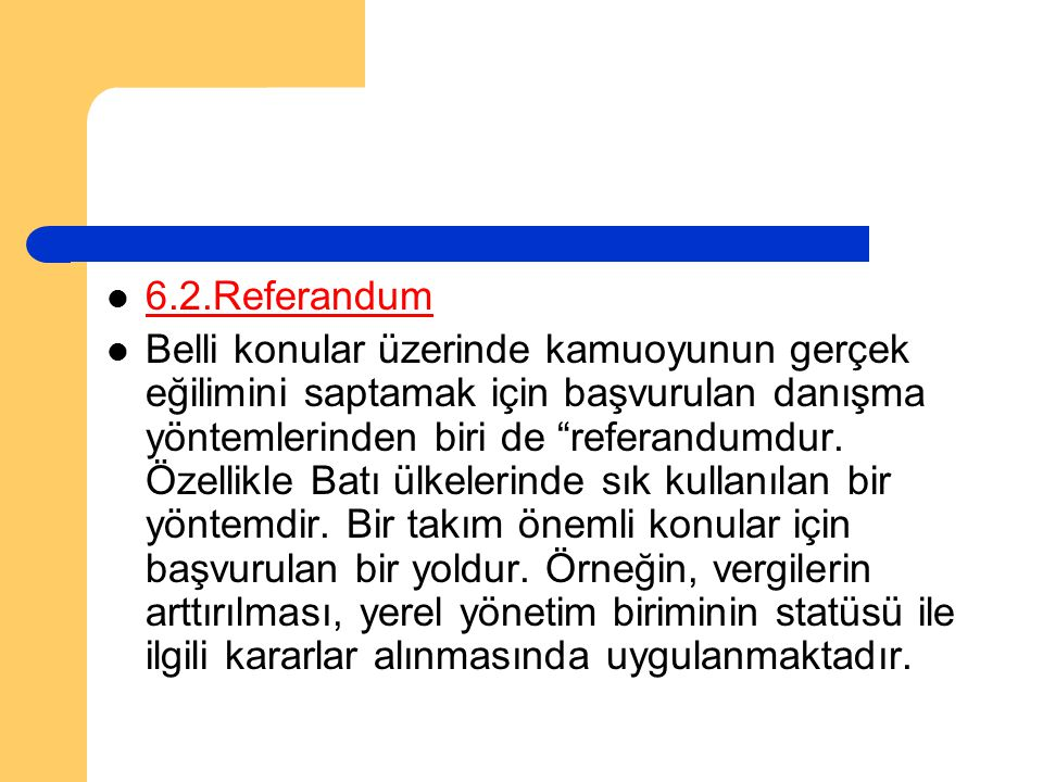 6.2.Referandum
