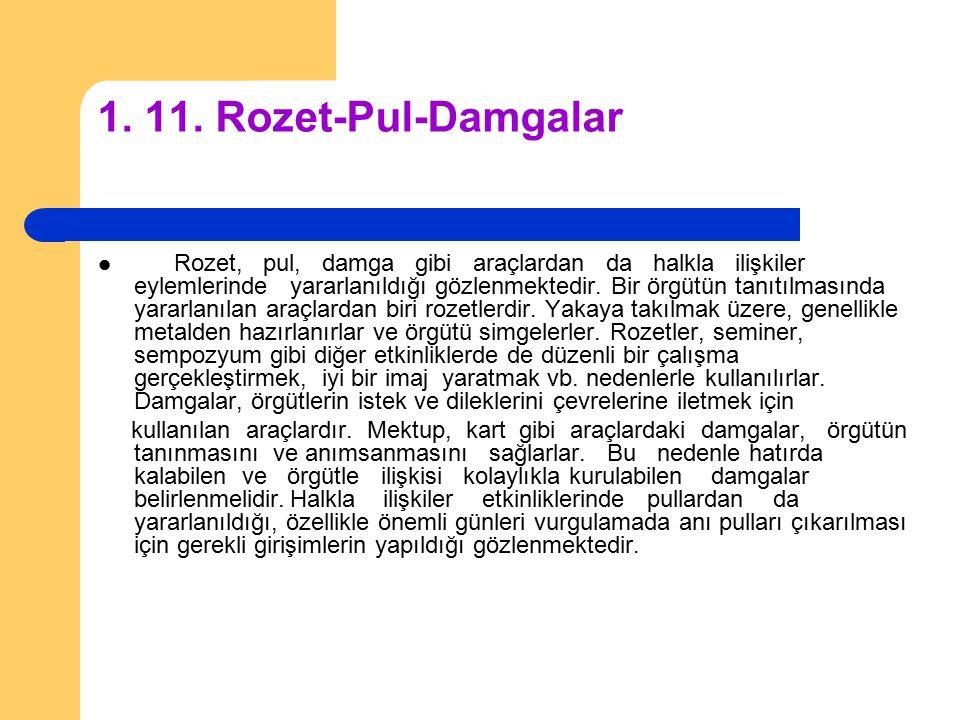 1. 11. Rozet-Pul-Damgalar