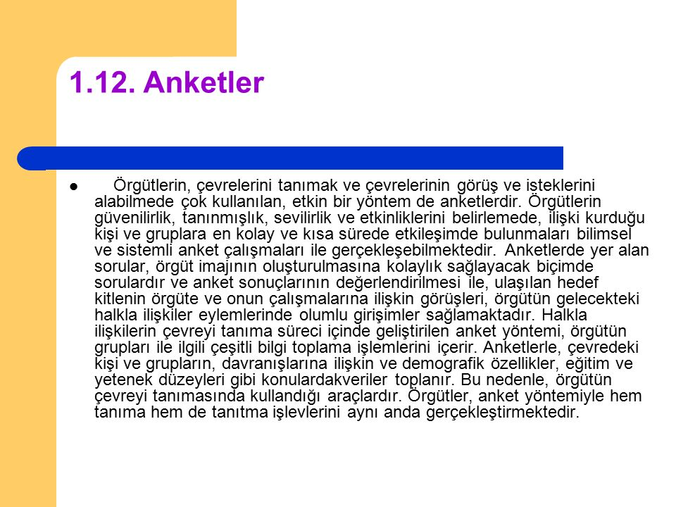 1.12. Anketler