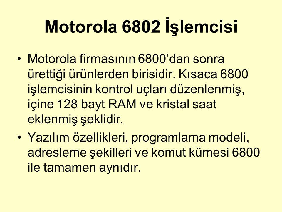 Motorola 6802 İşlemcisi