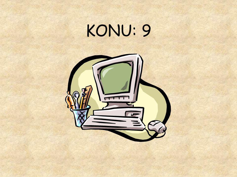 KONU: 9