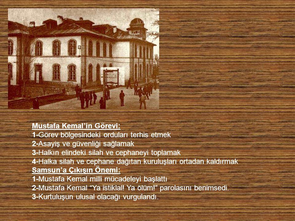Mustafa Kemal'in Görevi: