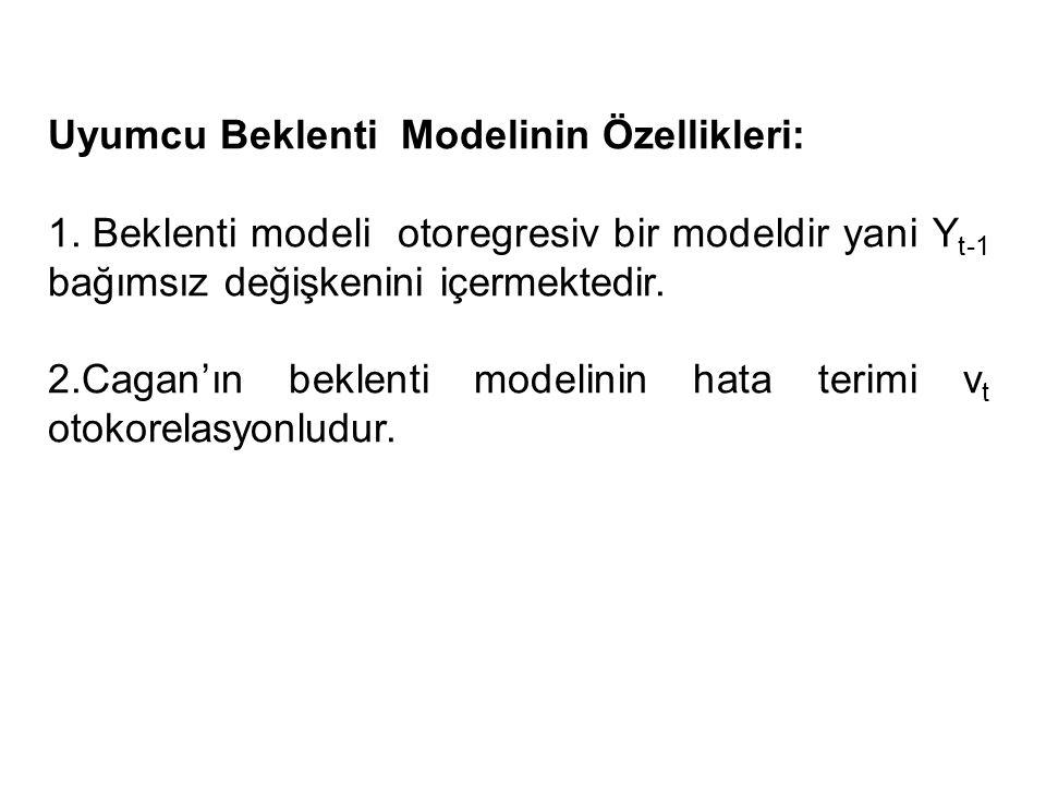 Uyumcu Beklenti Modelinin Özellikleri: