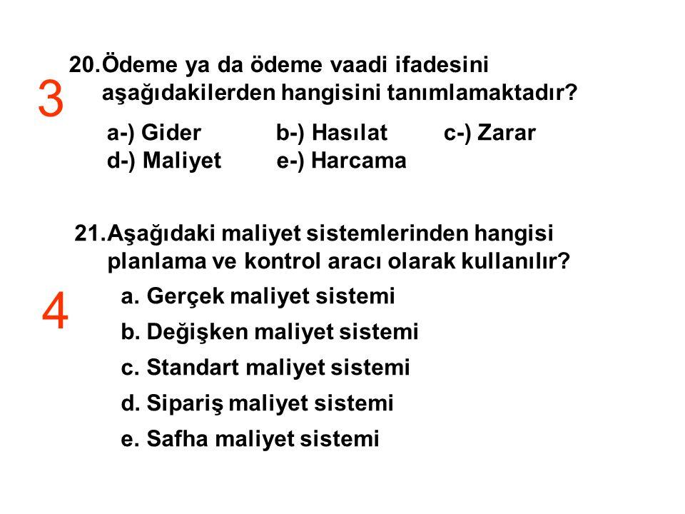 Ödeme ya da ödeme vaadi ifadesini aşağıdakilerden hangisini tanımlamaktadır