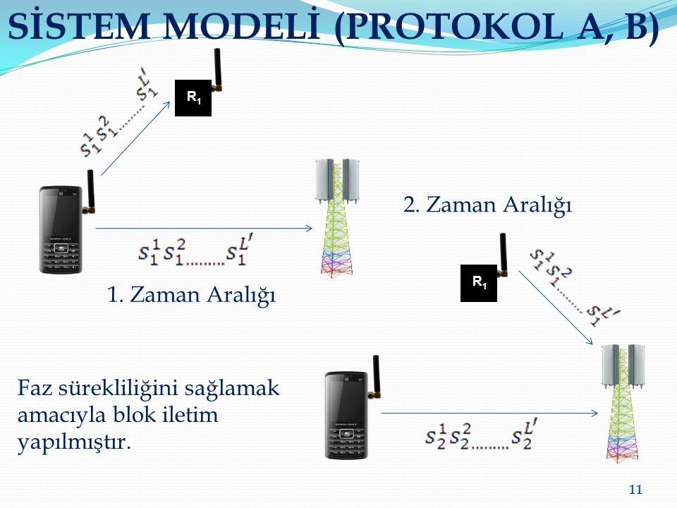 SİSTEM MODELİ (PROTOKOL A, B)
