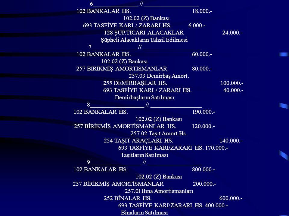 6_______________ // __________________ 102 BANKALAR HS. 18.000.-