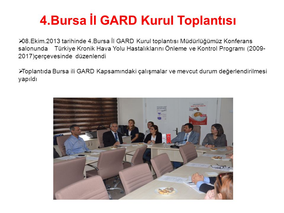 4.Bursa İl GARD Kurul Toplantısı