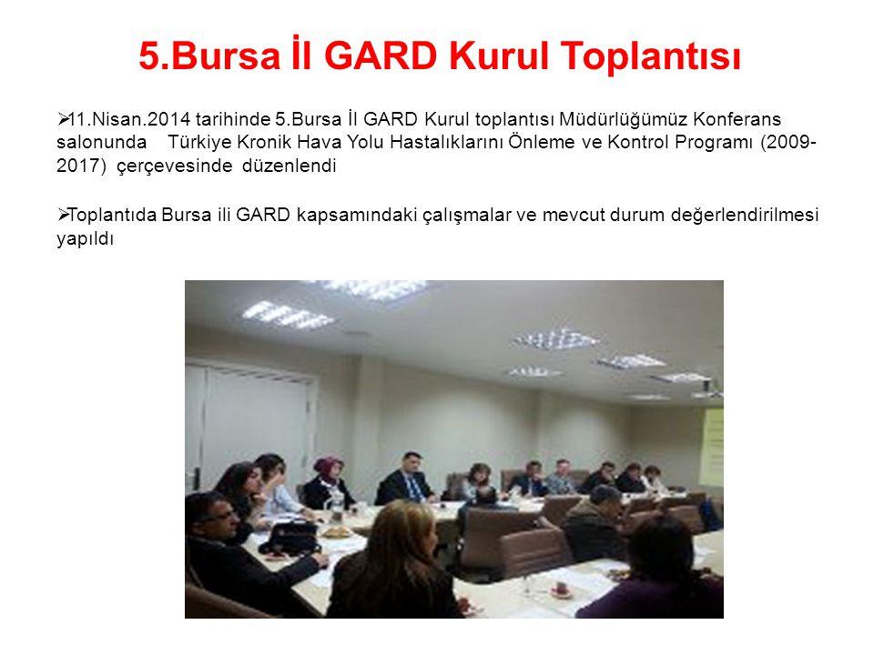 5.Bursa İl GARD Kurul Toplantısı