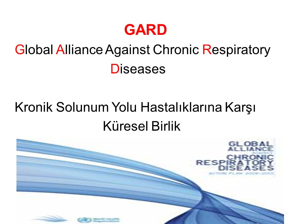 GARD Global Alliance Against Chronic Respiratory Diseases