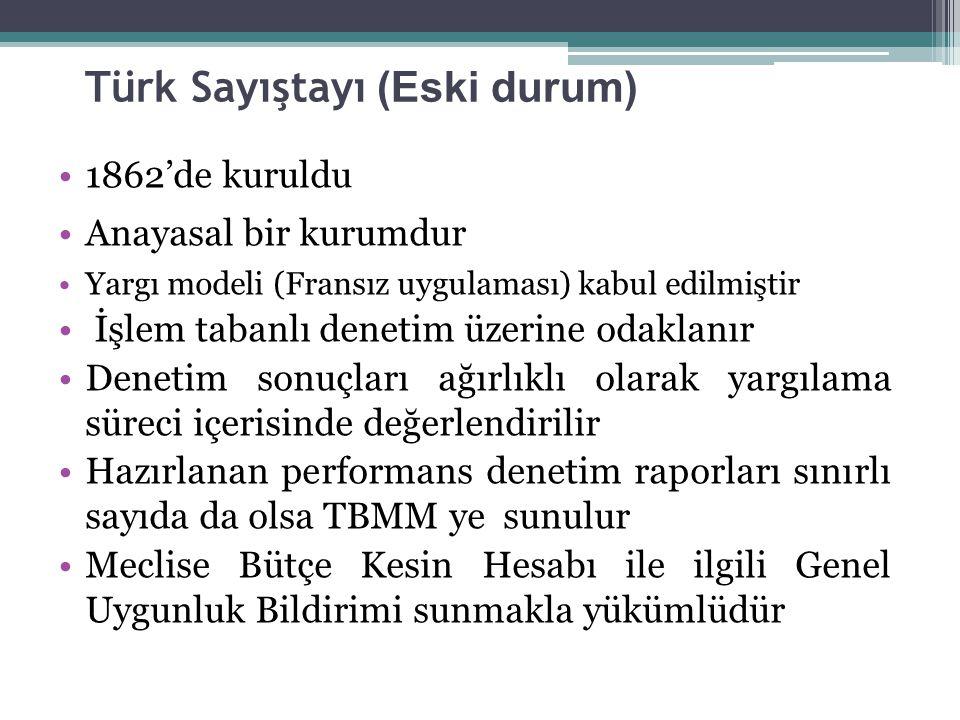 Türk Sayıştayı (Eski durum)