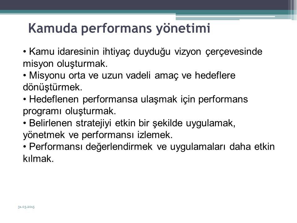 Kamuda performans yönetimi