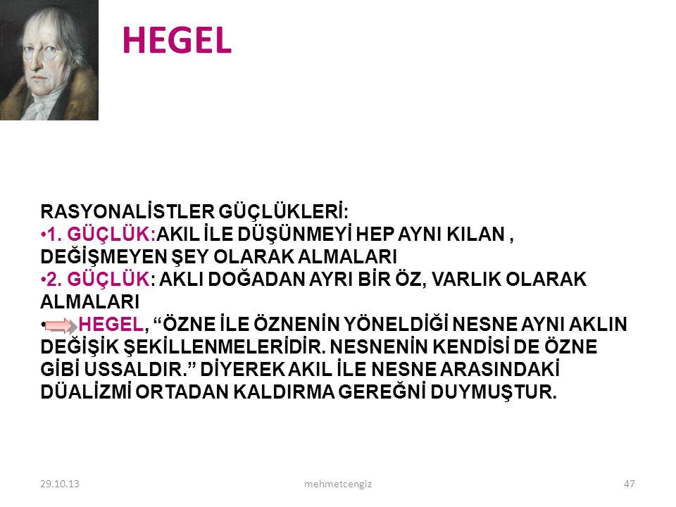 HEGEL <header> <date/time> <footer>