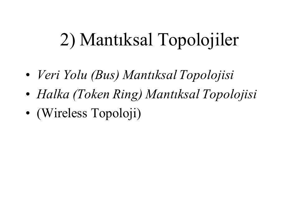 2) Mantıksal Topolojiler