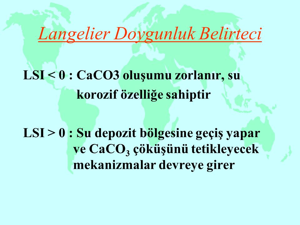 Langelier Doygunluk Belirteci
