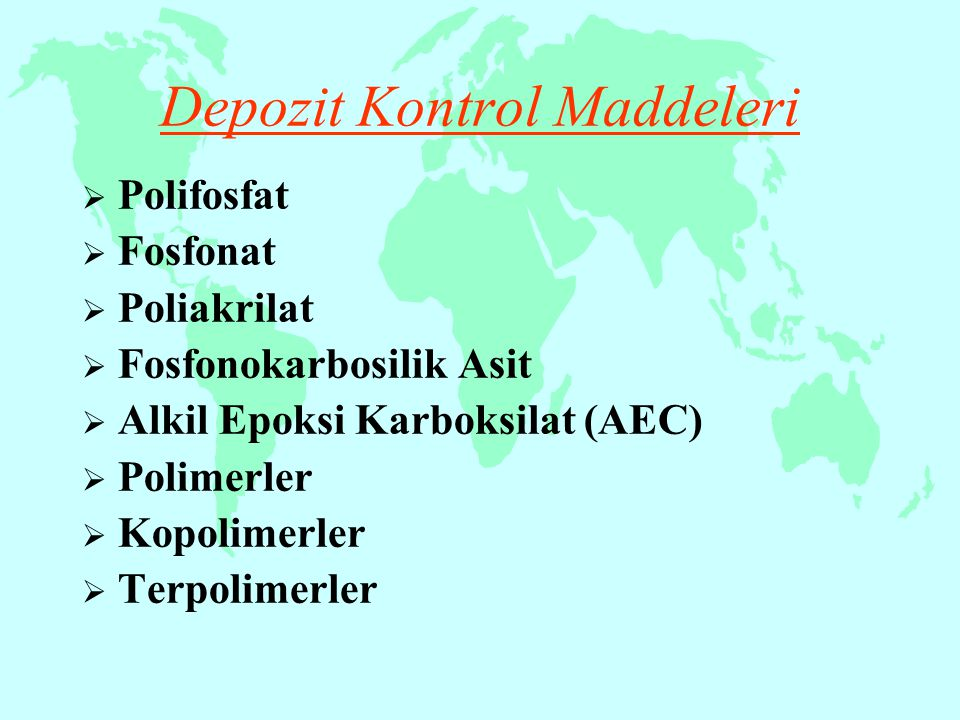 Depozit Kontrol Maddeleri