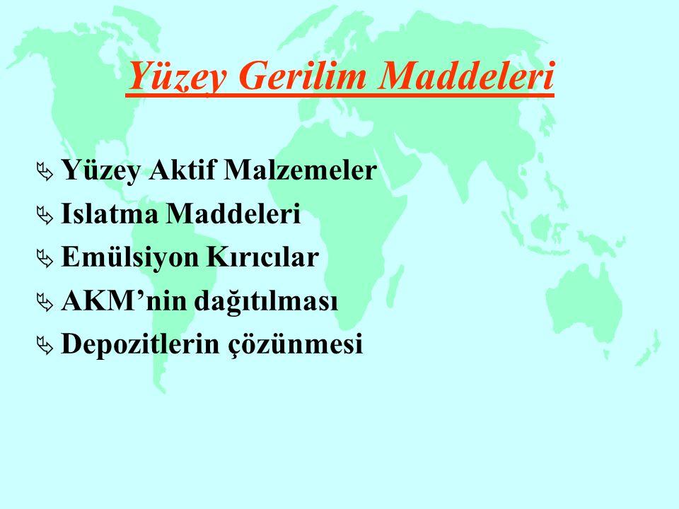 Yüzey Gerilim Maddeleri
