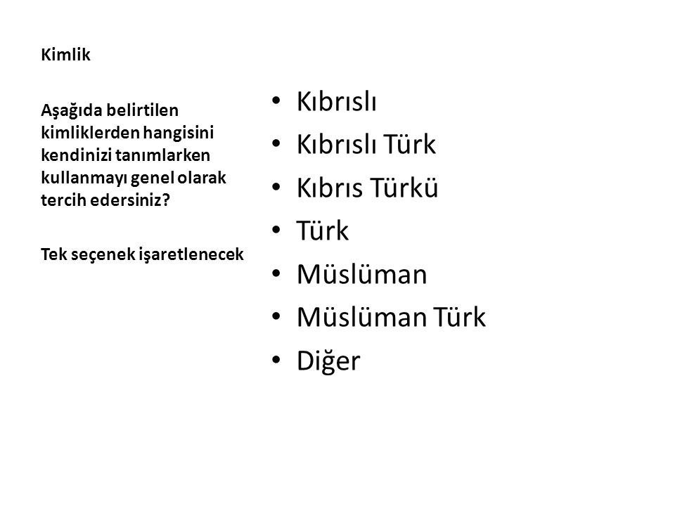 Kıbrıslı Kıbrıslı Türk Kıbrıs Türkü Türk Müslüman Müslüman Türk Diğer
