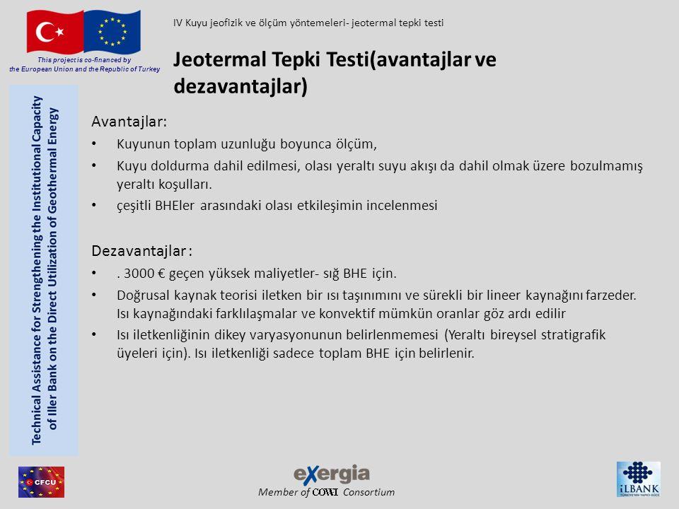 Jeotermal Tepki Testi(avantajlar ve dezavantajlar)