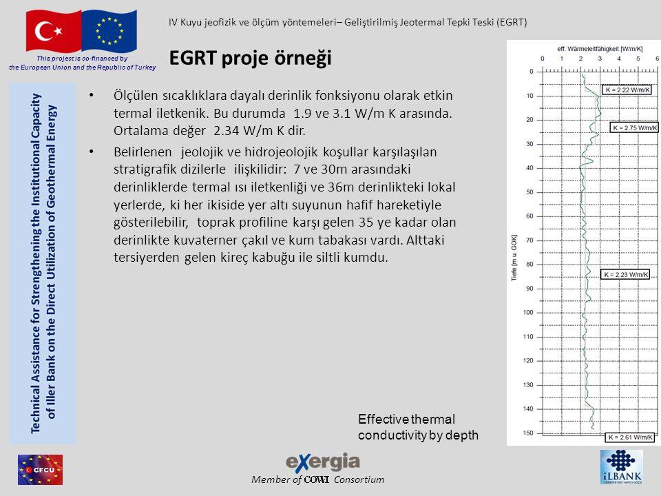 IV Kuyu jeofizik ve ölçüm yöntemeleri– Geliştirilmiş Jeotermal Tepki Teski (EGRT)