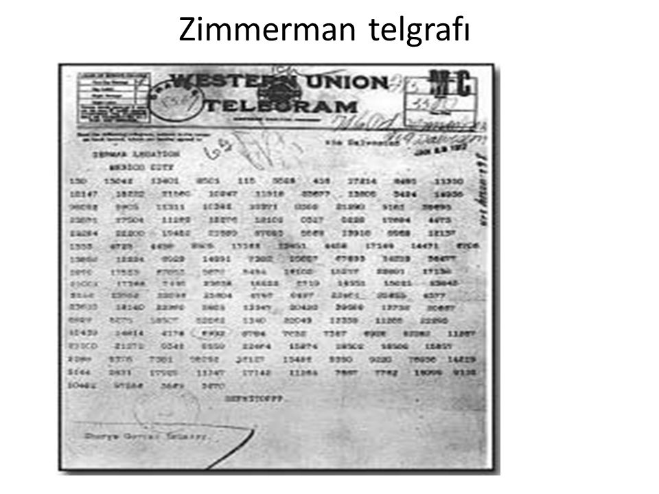 Zimmerman telgrafı