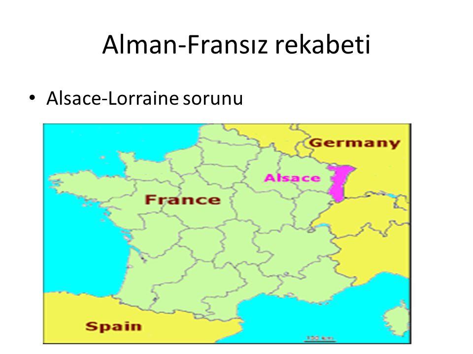 Alman-Fransız rekabeti