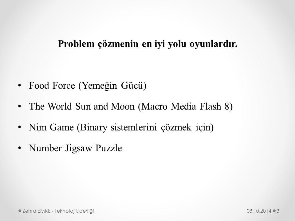 Problem çözmenin en iyi yolu oyunlardır.