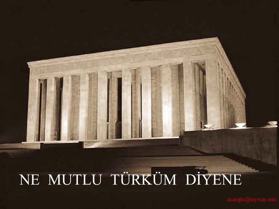 Ali Özoğlu- 2005 NE MUTLU TÜRKÜM DİYENE aozoglu@myway.com