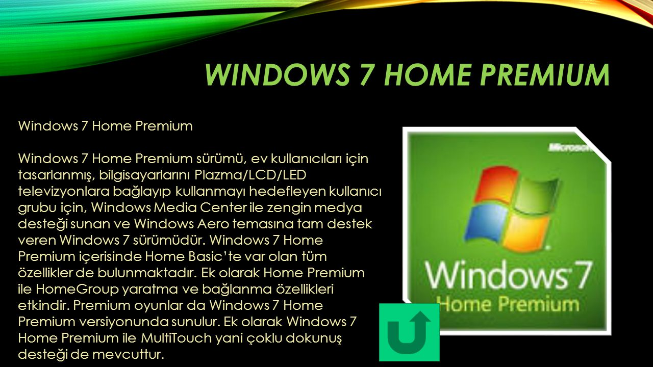Windows 7 home premium Windows 7 Home Premium
