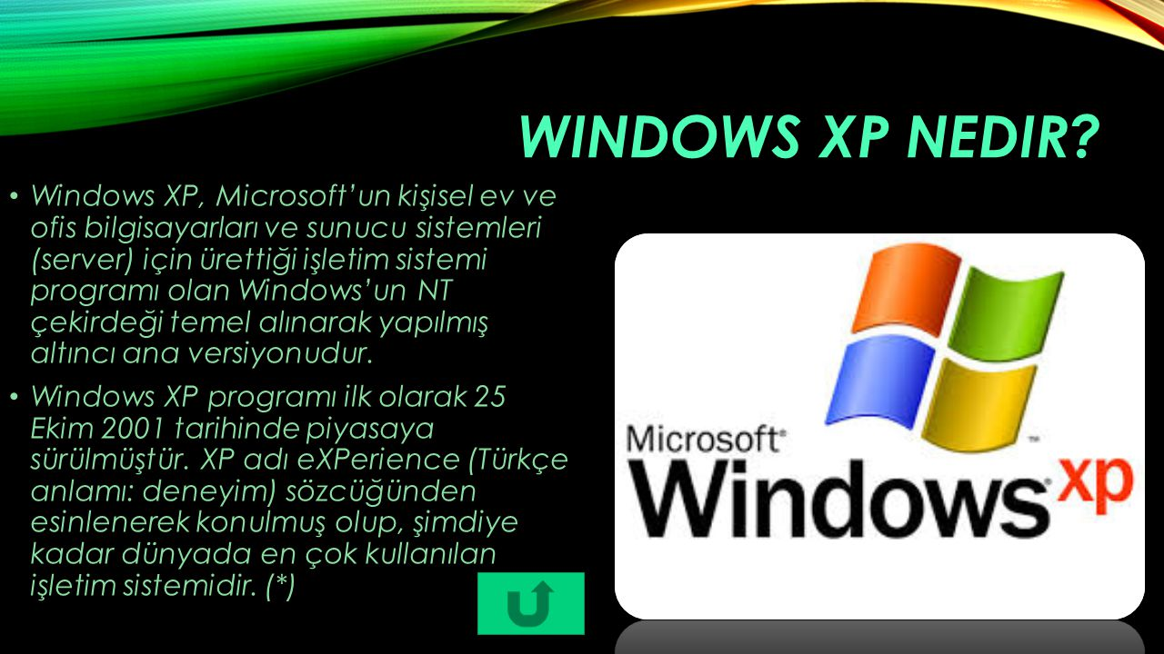 Windows XP nedir