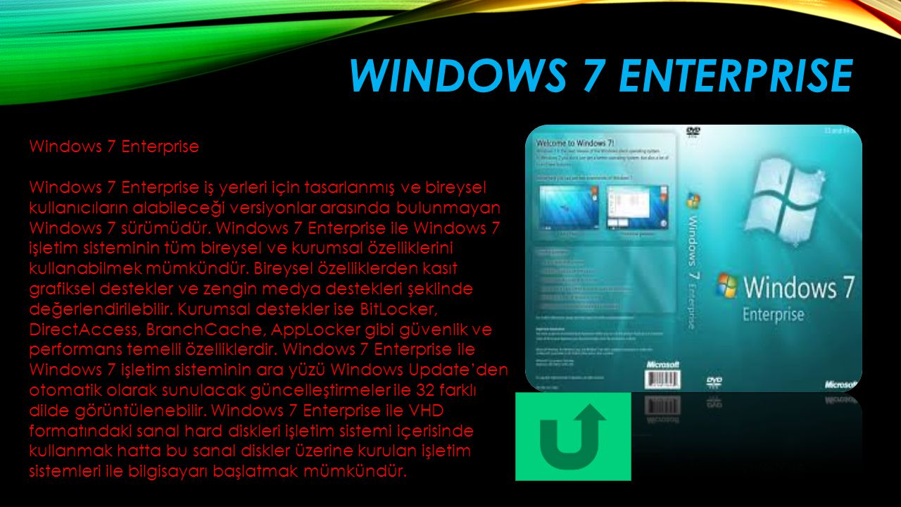 Windows 7 enterprise Windows 7 Enterprise
