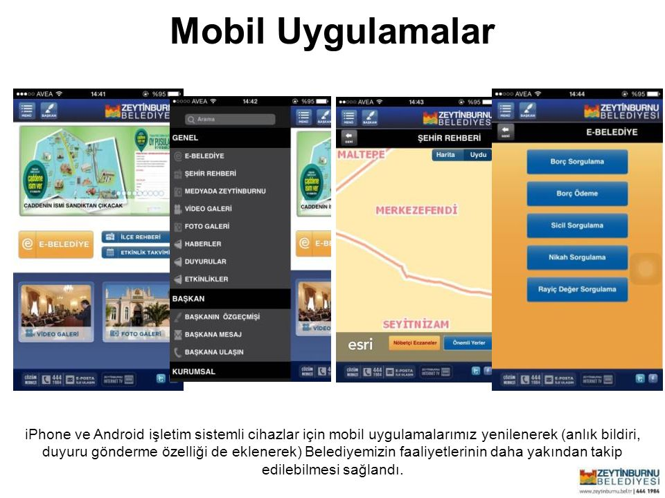 Mobil Uygulamalar Zeytinburnu Belediyesi