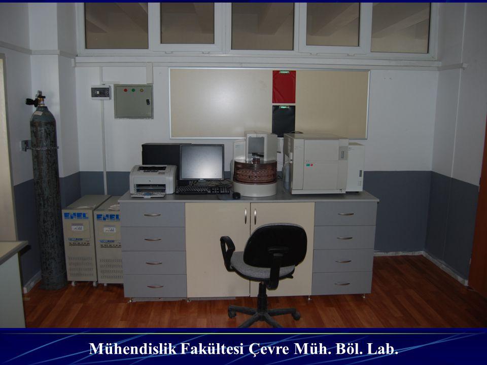 Mühendislik Fakültesi Çevre Müh. Böl. Lab.
