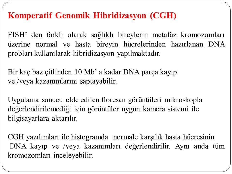 Komperatif Genomik Hibridizasyon (CGH)