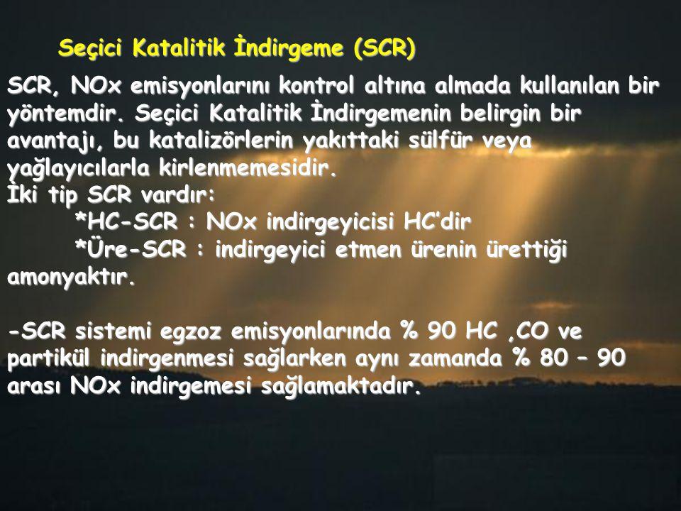 Seçici Katalitik İndirgeme (SCR)