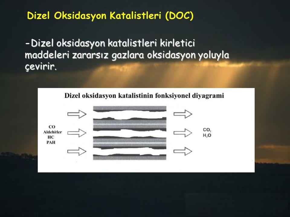 Dizel Oksidasyon Katalistleri (DOC)