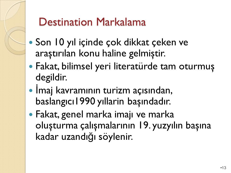 Destination Markalama