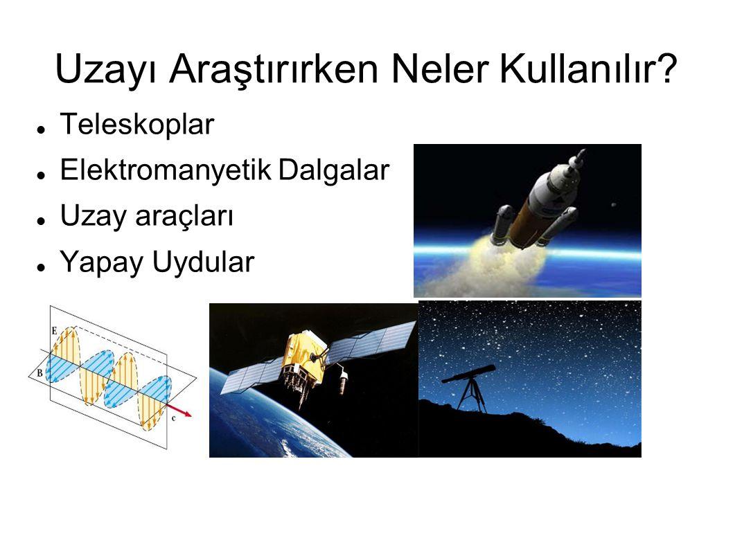 Uzayı Araştırırken Neler Kullanılır
