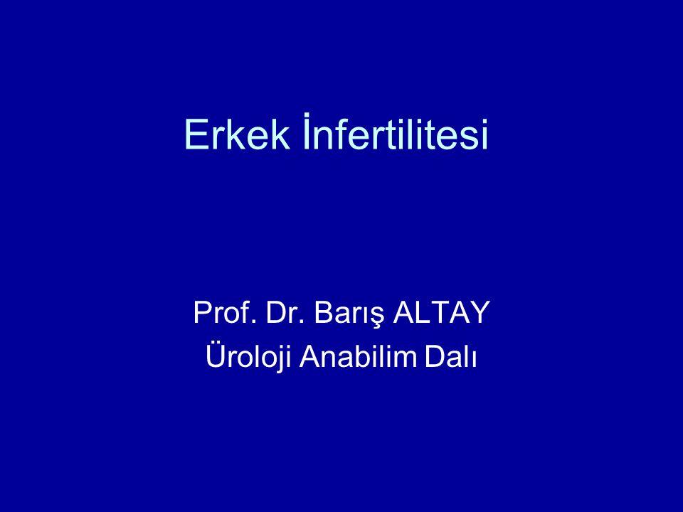 Prof. Dr. Barış ALTAY Üroloji Anabilim Dalı